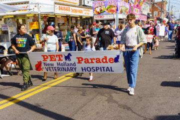 Pet Parade at New Holland Fair